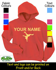 STREET DANCE KIDS PERSONALISED HOODY / HOODIE'S -GREAT GIFT FOR A CHILD & NAMED
