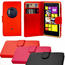 NEW PU LEATHER WALLET FLIP CASE COVER FOR NOKIA LUMIA 1020