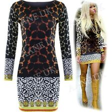 LADIES NICKI MINAJ CELEBRITY LEOPARD PRINT WOMENS BODYCON SHORT MINI PARTY DRESS
