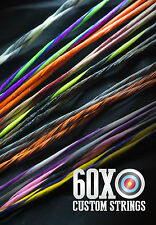 60X Custom Strings & Cable Set fits Mathews Bows Color Choice Bowstrings