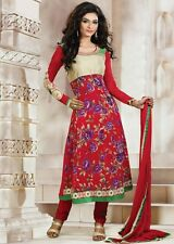 DESIGNER ANARKALI SALWAR KAMEEZ DUPATTA INDIAN PAKISTANI  SUIT DRESS - NEW 2014