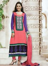 PURE GEORGETTE DESIGNER SALWAR KAMEEZ DUPATTA PAKISTANI INDIAN DRESS SUIT - 2014