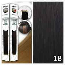 Bohyme Tape-In Skinweft 100% Remi Human Hair Extensions Color 1B