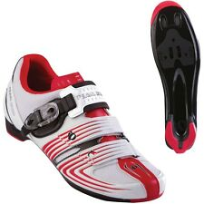 Pearl Izumi Men's Race Rd II Road Cycling Shoes White Red Black  SPD-SL / Look