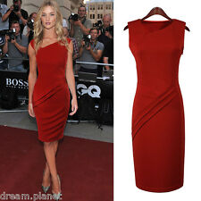 New Womens Celebrity Style Bodycon Pencil Evening Party Dress-B02
