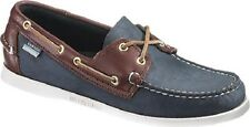 Sebago Men's Spinnaker Blue/Brown Shoe B72852