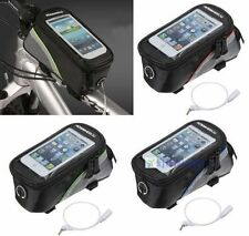 1/3 Cycling Bicycle Frame Front Tube Bag Phone Case For iPhone4 4S 5G 5C 5S KJ