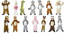 Unisex Kids Childrens Animal Costume Jumpsuit Party All in One World Book Day