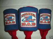 #1 Dad Golf Headcover  Great Gift Golf Iron Clubs Great Fathers Day Gift