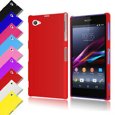 Hybrid Hard Back Case Cover for Sony Xperia Z1 Compact D5503 + Screen Protector