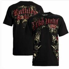NWT Men's Ecko MMA UFC Reckless Rhino Honor Fighters T-shirt Tee Choose Size Blk
