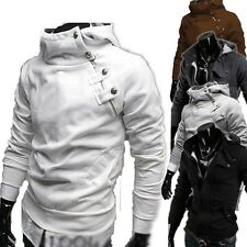 Men's Casual Fashion Slim Fit Sexy Top Designed Choker Hoodies Jackets Outwear