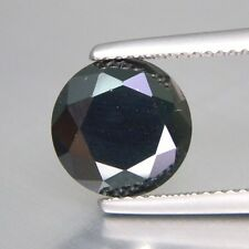 Round Brilliant Cut Black CZ (2 - 10mm) Loose Cubic Zirconia Stone - Select Size