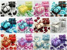 Luxury 2-Tone Box & Lids - Wedding, Christmas, Baby Shower, Party, Favour Boxes
