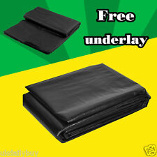 POND LINER High quality PE Fish safe 40 Year Guarantee with Free Underlay