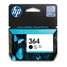 GENUINE OEM HP HEWLETT PACKARD BLACK PHOTOSMART INK CARTRIDGE HP 364 (CB316EE)