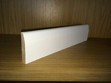 White Primed MDF Architrave - 14.5x69mm (3inch) C/Round - 4.2M Length (14ft)