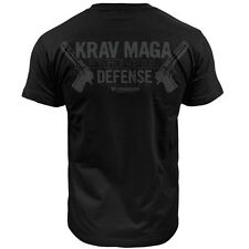 T-SHIRT THUMBSDOWN KRAV MAGA ! IDEAL FOR MMA, TRAINING, CASUAL WEARS! TS328 BLK