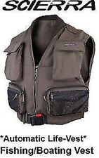 Scierra  LIFE JACKET VEST Inflatable Saving Waistcoat Fishing/Boating/fly