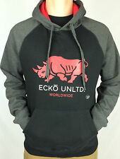 ECKO Unltd. Men's Hoodie Pocket Jumper. VARIOUS Colours. XS, S, M, L, XL & XXL.