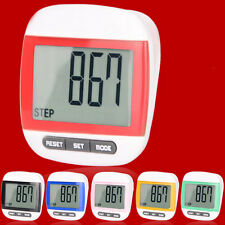 Step Walking Calorie Counter Waterproof  Multi-Function LCD Pedometer