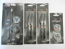 NEW Twilight Saga Eclipse Stationery Sets Pen, Pencil, Sharpener eraser, ruler