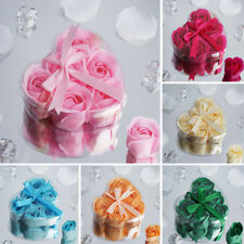 200 GIFT Boxes with HEART ROSE PETALS SOAPS Wedding Party FAVORS Wholesale Lot