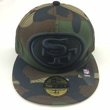 New Era 5950 Cap Mighty Player NFL San Francisco 49ers Wood land Camouflage