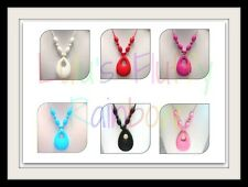 Silicone Tear Drop Teething Necklace - Stylish! - For Mom to Wear!