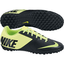 Nike Nike5 Bomba TF II 2014 Turf Soccer Shoes Black / Neon Yellow Brand New