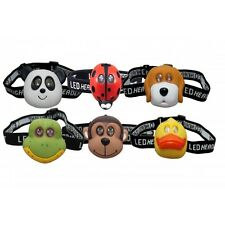 CLULITE HL15 KIDS LED ANIMAL HEADTORCH ** ( CH )
