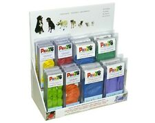 12 PAWZ Waterproof Reusable Disposable Rubber Dog Boots-2 color pack.Medical Use