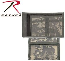 Army Tactical Acu Digital Camouflage Tri-Fold Nylon Commando Army Wallet 10640