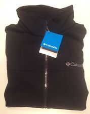 Columbia Mt Village Full Zip Soft Shell Men's Jacket M L Black New NWT $115 MSRP