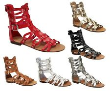 atta-1 New Fashion 6 colors Wedges Sandals Gladiator Zipper Party Women's Shoes