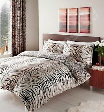 Tiger skin print duvet cover quilt cover bed sets single double king super