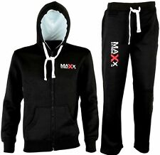 PRO Wear  Full Fleece Tracksuit Hoodie Trouser Gym Mma Boxing Pants Track Suite