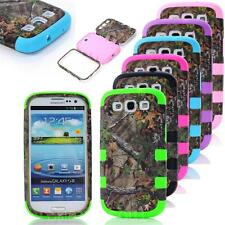 NEW COOL BEST HYBRID CAMO TREE HARD CASE COVER FOR Samsung Galaxy S3 i9300 PHONE