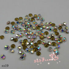 1440pcs SS2-SS20 Crystal AB Point Back Crystal Glass Rhinestones China A+ Grade