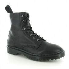 Dr Martens Hadley Mens Leather 8-Eyelet Boots Black