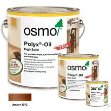 Osmo Polyx Hard Wax Oil Tints 3072 Amber Transparent - Wooden Floors & Woodwork