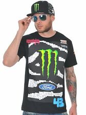 Hoonigan Black Monster Ken Block Rally Division Official Team T-Shirt