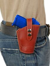 NEW Barsony OWB Burgundy Leather Holster Smith&Wesson Small 380 UltraComp 9mm 40