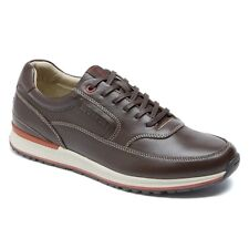 Rockport Men's Crafted Sport Casual Mudguard Coach Brown Walking Shoes V76318