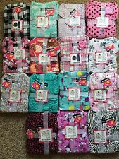 Women's Joe Boxer Flannel Pajamas 2 Piece Set Many Styles to Chose From
