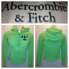 NWT ABERCROMBIE & FITCH WOMENS FLEECE HOODIES JACKET SIZE XS,S,M,L A&F Green