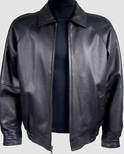 1011 Mens Soft Premium Leather Bomber Jackets & Coats for Size Long Tall All