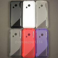 New TPU Gel Soft Rubber Case Back Cover Skin Pouch For Nokia 220 Dual SIM RM-969