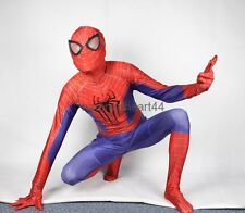 THE AMAZING SPIDER MAN 2 COSTUME screen accurate dye sublimation Faceshell lens