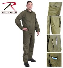 GREEN Military Style Flight Suit Air Force Style Fighter Flight Coveralls 7500